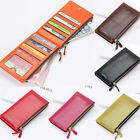 Womens Long Faux Leather ID Credit Card phone Holder Clutch Bifold Purse Wallet