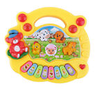 Baby Kids Musical Educational Piano Animal Farm Developmental Music Toy Yellow