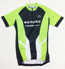 2017 Poly Short Zip Short SLEEVE Cycling JERSEY with logo (Green) by GSG