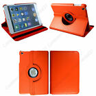 Leather 360 Rotating Stand Case Cover For iPad 1234 / Mini 1234 / Air 1 2 / Pro