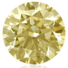 6.77 ct SI2/12.50 mm WHITE HUGE CANERY YELLOW COLOR LOOSE REAL MOISSANITE /ring