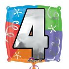 Birthday Anniversary Balloons Number Numbered Foil Balloon 1 2 3 4 5 6 7 8 9 0