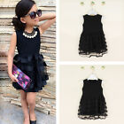 Girl Princess Dress Kid Baby Party Wedding Pageant Formal Dresses Clothes New