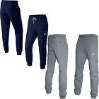 New Mens Nike Fleece Jog jogging Pants Navy Grey Slim Fit Size S M L XL