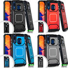For LG Tribute HD IMPACT HYBRID Plating Protector Case Skin Cover +Screen Guard