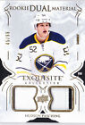 16-17 Esquisite Hudson Fasching /99 Patch Rookie Dual Material Sabres 2016
