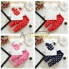 2pcs Kid Baby Girls Minnie Mouse Bow T-shirt+Pants Clothes Set Outfit For  9M-3Y