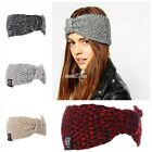 Women hairband knit headband crochet warmer Hair Band headwrap S0BZ