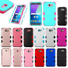 For Samsung Galaxy J3 Emerge IMPACT TUFF HYBRID Protector Case Skin Phone Cover