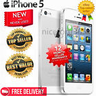 BRAND NEW SEALED UNLOCKED APPLE iPhone 5 iPhone 4s 4G MOBILE WHITE BLACK FF66