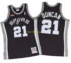 TIM DUNCAN San Antonio SPURS Mitchell & Ness FINALS Authentic THROWBACK Jersey