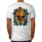 Skull Rose Knive Skull Men T-shirt Back S-5XL NEW | Wellcoda