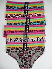 6 Lot Women Cotton Bikini Panty Panties Briefs Underwear Leopard print M-XL