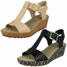 Ladies Clarks Wedge Casual Sandals Style - Kamara Kiki