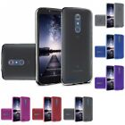For ZTE Imperial Max / Max Duo 4G LTE TPU Rubber Flexible Phone Skin Case Cover
