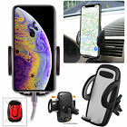 Universal 360° Car Air Vent Mount Holder Cradle Stand for Phone Samsung iPhone X