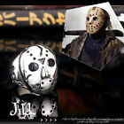 punk halloween leather face Jason murderer mask titanium steel ring【J1A630】