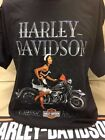 "Harley-Davidson Men's Black s/s ""Spotless"" Pin up classic models t-shirt $21.6 USD"