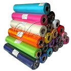 10 Rolls 25m x 28cm Sheer Organza Roll Wedding Chair Sash Bow Table Runner Swag