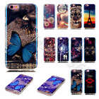 Luxury Blue Light Reflection Design Case Soft TPU Silicone Rubber Cover Fr Phone