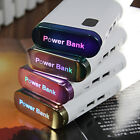 Portable Universal 50000mAh LED Power Bank 2 USB Battery Charger For Cell Phones