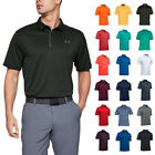Under Armour Mens 2019 UA Golf Tech Wicking Textured Soft Light Polo Shirt