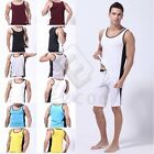 Men's Soft Cotton Top Tank Vest Underwear Soft Casual Sport Short Vest Tops CA