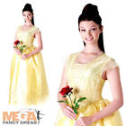 New Belle Ladies Fancy Dress Beauty and the Beast Disney Princess Adults Costume