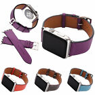 For Apple Watch Series 2 1 Single Tour Genuine Leather Wrist Watch Band Strap