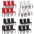 Set of 6 PU Leather Contemporary Dining Chairs Kitchen Breakfast Furniture A1L9
