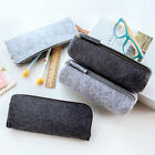Lovely Felt Pencil Pen Case Cosmetic Bag Makeup Pouch Zipper Student Supplies
