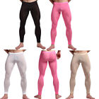Sexy Men See-through Pants Tight Leggings Trousers Underpants Underwear elastic