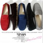 Chic Men's Faux Suede Slip on Casual Loafers Moccasin Boat Driving shoes NEW