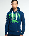 Kyпить New Mens Superdry Trackster Hoodie Iowa Blue Marl на еВаy.соm