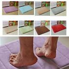Soft Memory Foam Bath Bathroom Bedroom Shower Mat Rug Non-slip Absorbent Sanwood
