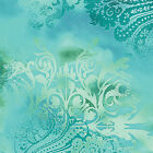 DREAMSCAPE BLENDER TURQUOISE BENARTEX FABRIC QUILT SEWING CRAFT FREE OZ POST *