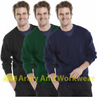 Mens V Neck Plain Long Sleeve Jumper Sweater Pullover Golf Knitwear Uniform Top