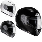 HJC CS-15 Plain Motorcycle Helmet Solid Integral Bike Pinlock Ready GhostBikes