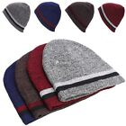 New Unisex Knitting Beanie Hat Two-sided Warmed Winter Casual Sports Cap DZ8801