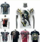 Artful Custom Men T-shirt Present Gift Skull Casual Cotton Japan Design Devil