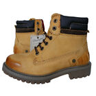 Wrangler Yuma Greec Lady WL112255 Boots Shoes Size 36-37 Leather Beige
