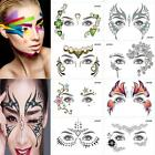 Eyes Temporary Tattoo Face Make Up Stickers Party Night Club $1.25 USD