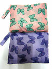 GIRLS RJM BUTTERFLY PACK AWAY MAC WITH HOOD AVALIABLE IN 2 COLOURS STYLE - JK408