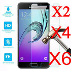 6Pcs 9H+ Tempered Glass Screen Protector For Samsung Galaxy A3 A5 A7 2016 / 2017