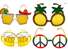 Fancy Dress Novelty Sun Glasses Various Designs Hawaiian Summer Beer Pineapple
