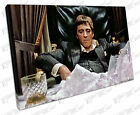 Print on Canvas American gangster Tony Montana Scarface