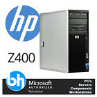 HP Z400 Workstation Xeon Quad Core 16GB RAM 500GB Windows 10 Tower Customisable