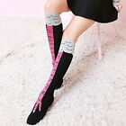 1 pair Unique Girl Medium socks Stovepipe Overknee Chicken socks