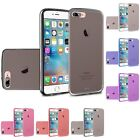 For Apple iPhone 7 Plus TPU Rubber Flexible Phone Skin Case Cover