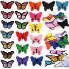 Kyпить DIY 2PCS Embroidered Butterfly Applique Iron On Sew On Patch Clothing на еВаy.соm